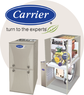 Carrier furnace replacement, service and repair in woodstock